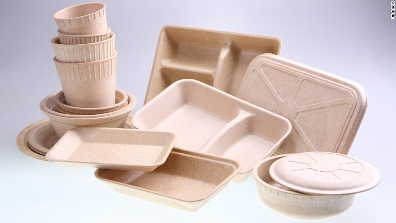 This Thai company makes food packaging out of bamboo to cut down on trash