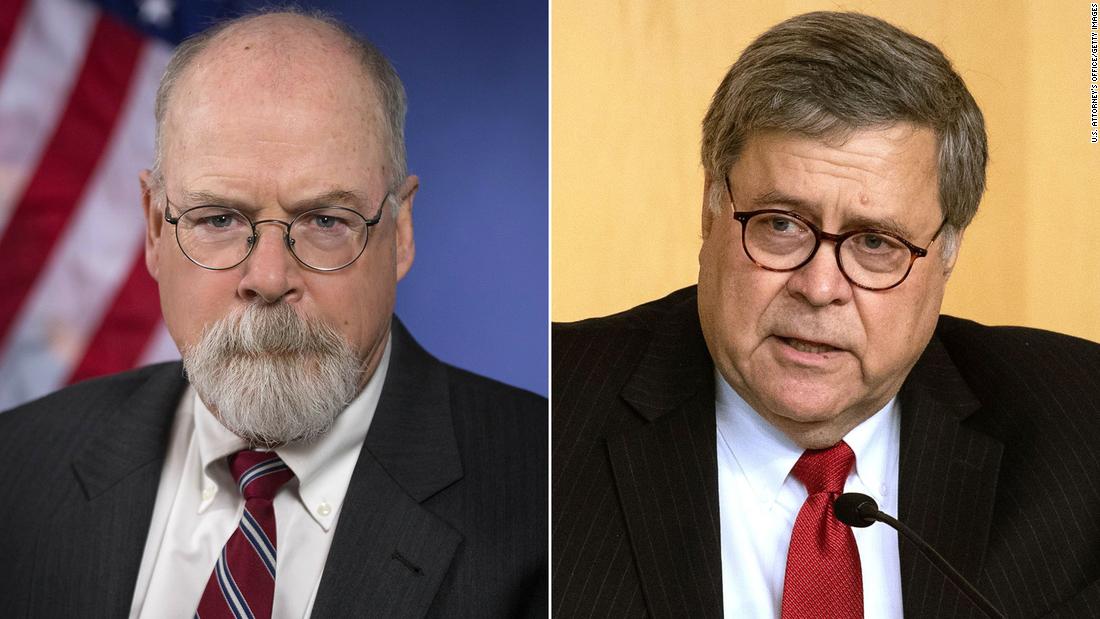Barr's investigation into origins of Trump-Russia probe is now a criminal investigation