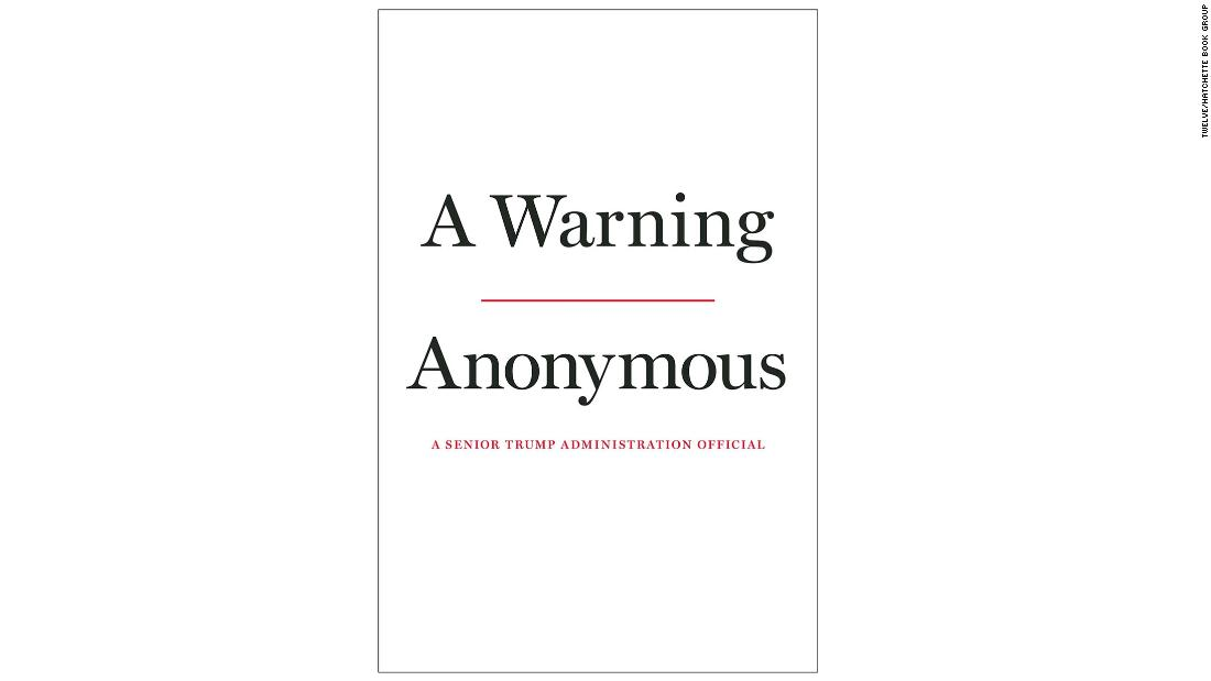 'Anonymous' Trump official to expose private conversations with President in book