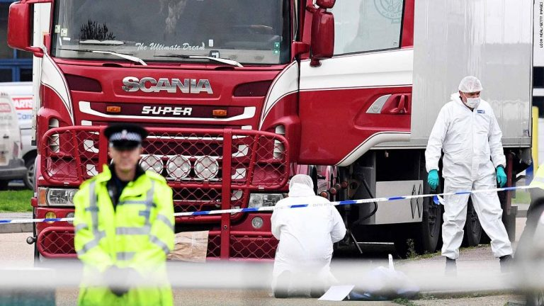 Essex truck deaths: Two more arrested after 39 victims found in container — live updates